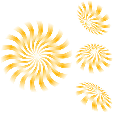 Sunburst abstract vector. Stock Vector - 6085401