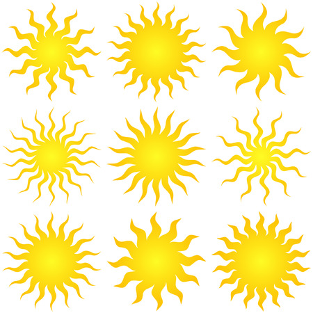 Sunburst abstract vector.   Stock Vector - 6084821