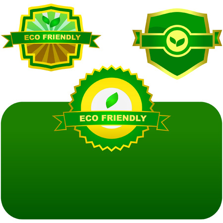 Eco labels. Stock Vector - 6095288