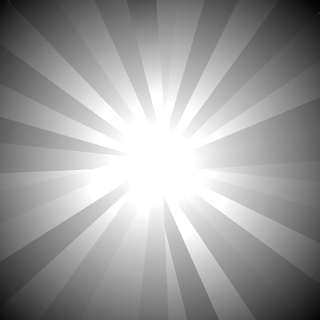 radiance: Sunburst vector.