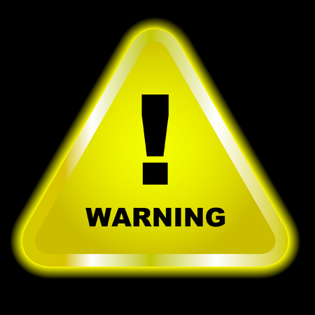 Warning vector sign   Vector