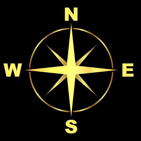 Vector compass. Stock Vector - 6095378