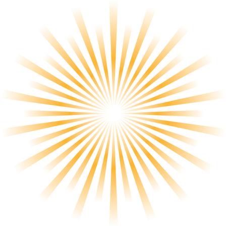 Sunburst abstract vector. Stock Vector - 6095374
