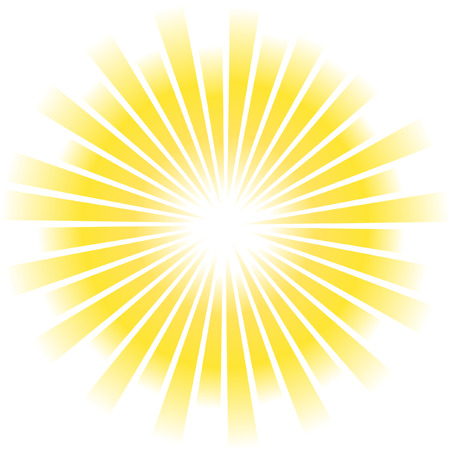Sunburst vector.   Vector
