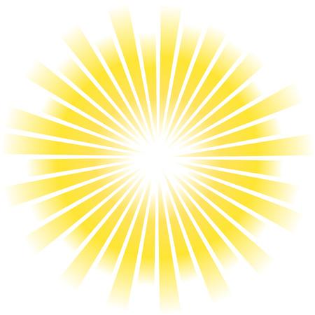 Vecteur de sunburst.  Vecteurs