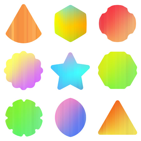 Graphic elements set. Vector illustration  Stock Vector - 6098141