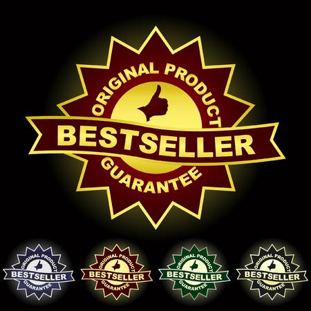 Bestseller emblem. Stock Vector - 6098033