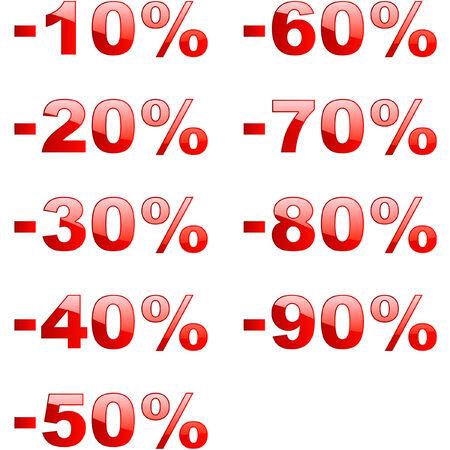 Discount signs Stock Vector - 6097945