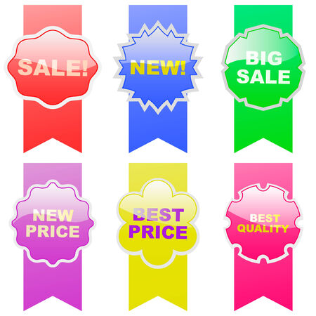 Set of design elements for sale. Stock Vector - 6097952