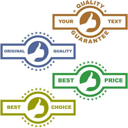 procent: Set of design elements for sale.