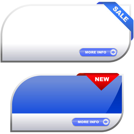 Vector banners   Stock Vector - 6331513