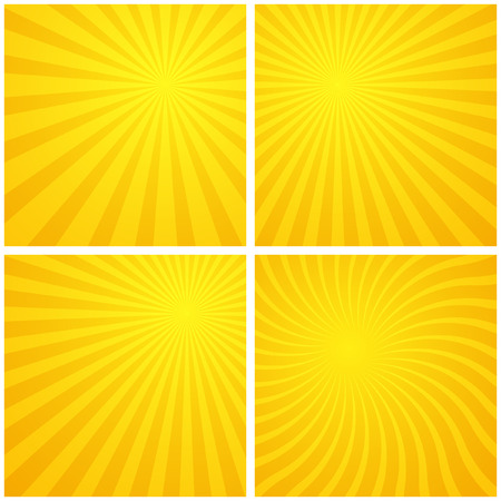 Sunburst abstract background. Vector