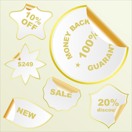 Vector signs for sale.   Stock Vector - 6331539