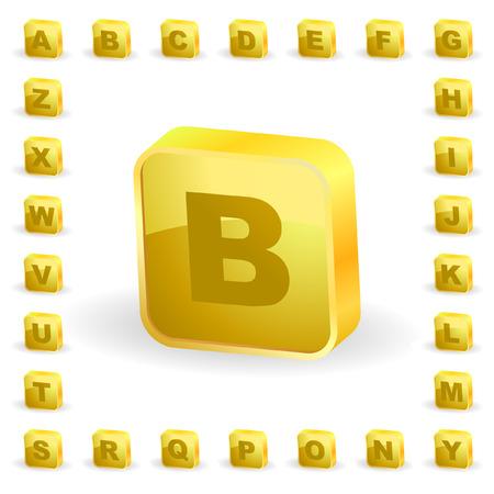 Vector alphabet for design.   Stock Vector - 6331733