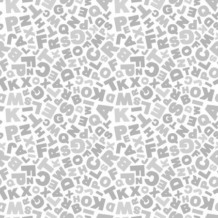 penman: Seamless alphabet background. Vector pattern.   Illustration