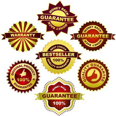 promotional: Set of sale emblem. Vector illustration.