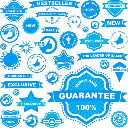 Set of design elements for sale. Vector great collection. Vector