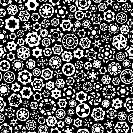 gearshift: Seamless gears background.
