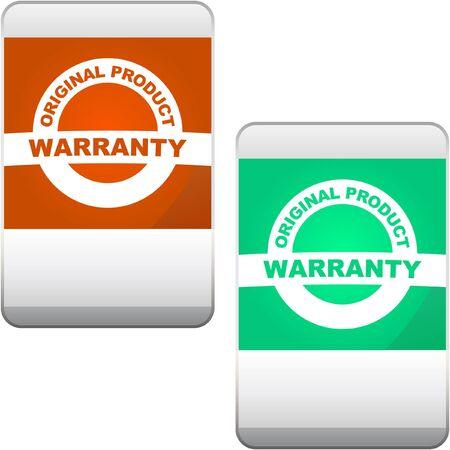 guaranree: Vector guarantee label.