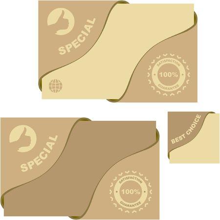 guaranree: guarantee labels. Illustration