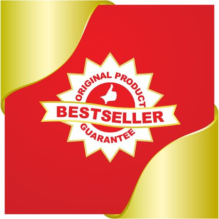 Bestseller emblem.   Stock Vector - 6577403