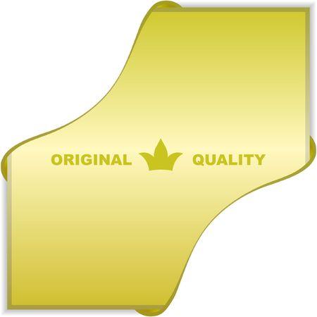 Design element for sale. Stock Vector - 6577372