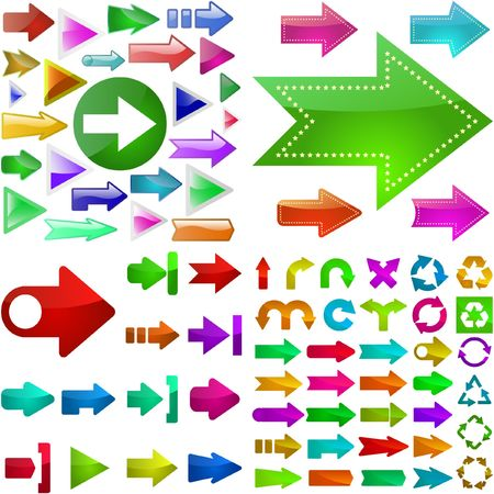 Arrows. Stock Vector - 6577560