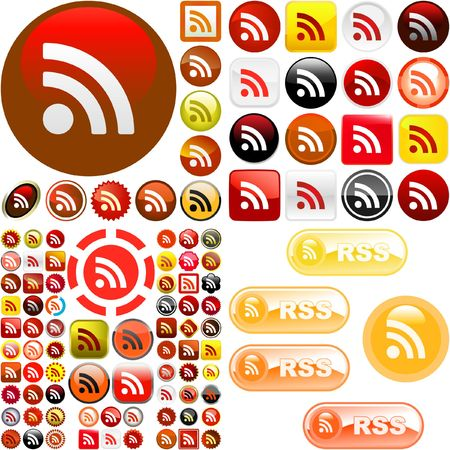 syndication: RSS buttons.