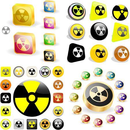 infectious: Icono radiactivo. gran colecci�n.