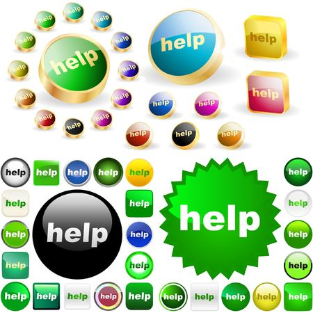 help button: Help button for web.