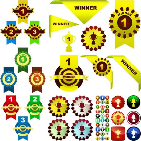 award set .  great collection. Vector