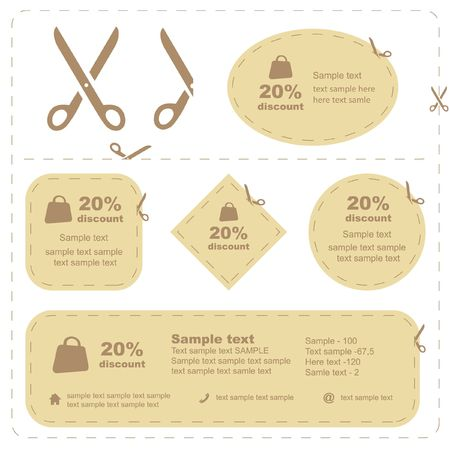 crop: scissors with cut lines templates to choose from