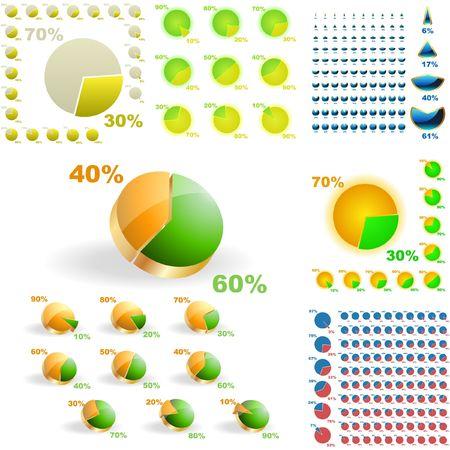 Statistiques sur les entreprises Banque d'images - 6877382