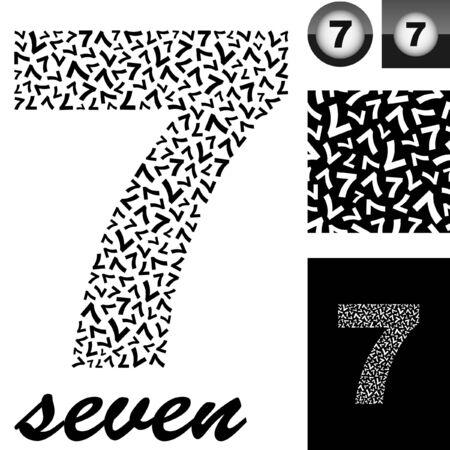 math paper: Seven. Great set for design.