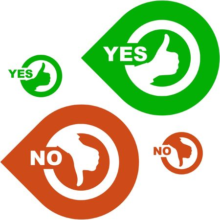 valid: Approved and rejected icons.