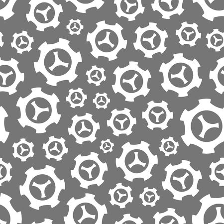 gears background: Seamless gears background.