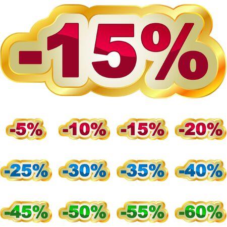 abatement: Discount label for sale