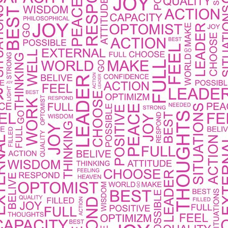 transactional: LEADER. Word collage on white background.