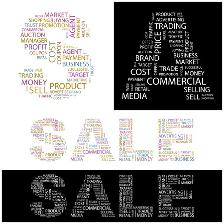 SALE. Word collage. illustration.    Stock Vector - 6914820