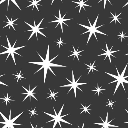 textured effect: Seamless star background.
