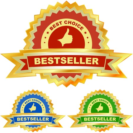 Bestseller emblem set Stock Vector - 7030784
