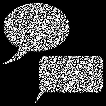 Speech collection Illustration
