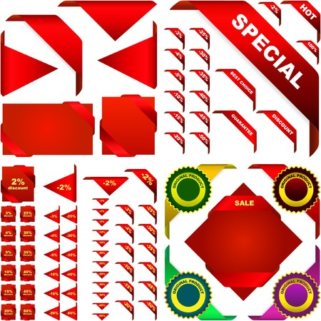 Set of design element for sale. Great collection.   Stock Vector - 7093912