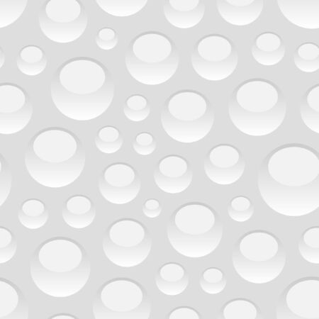 Seamless pattern with water drops. Vector