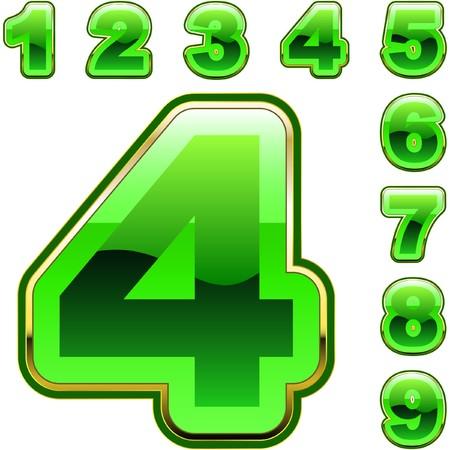 Numero set di icone.