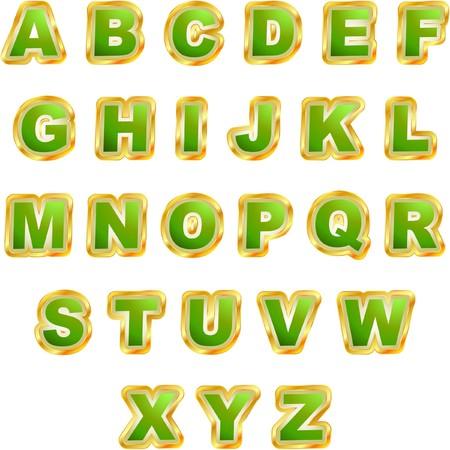 alphabet for design. Stock Vector - 7128630