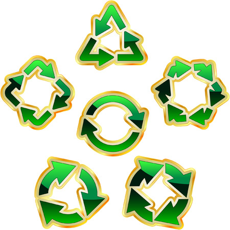 Recycle symbol.   Stock Vector - 7170183