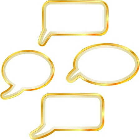 Speech bubble set. Stock Vector - 7195994