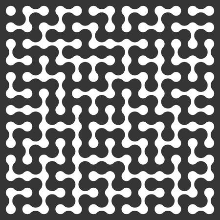deadlock: Maze. Vector pattern. Illustration