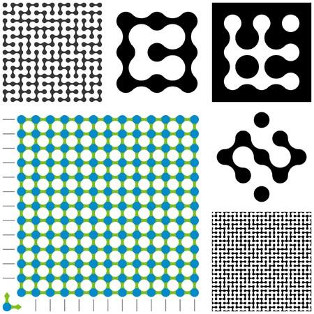 constructor: Maze constructor. Vector illustration.   Illustration